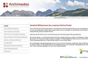 Archimedes Finanzdienstleistungen Startseite