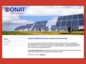 Donat Elektroanlagen Startseite