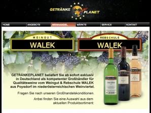 Getränkeplanet Weinhandel