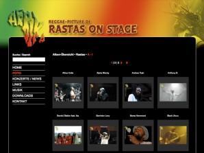 Reggaepicture Galerieübersicht